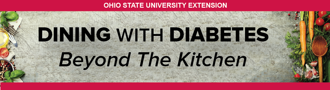 Dining with Diabetes Banner