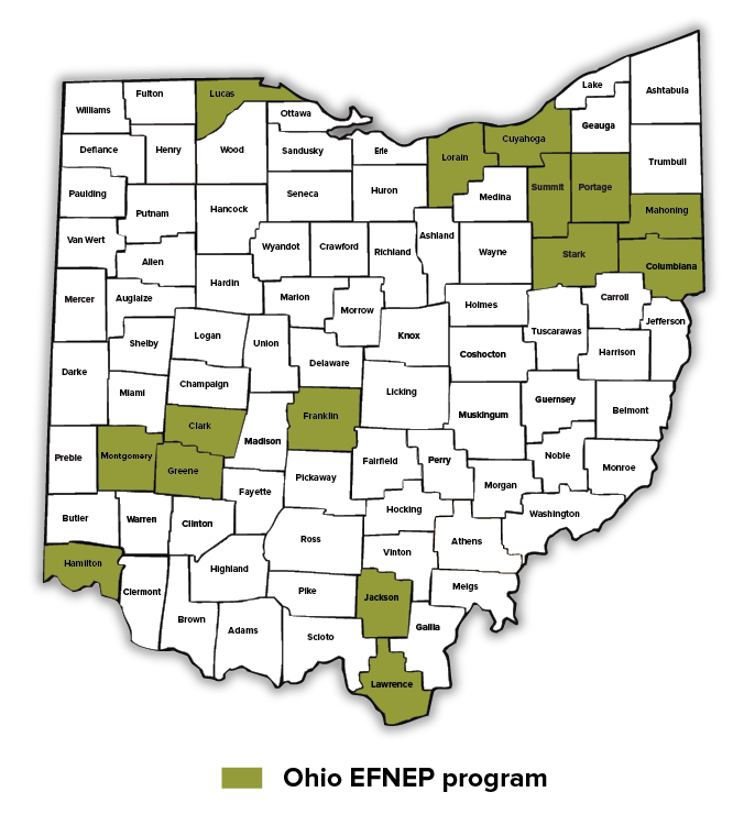 15 EFNEP Ohio Counties