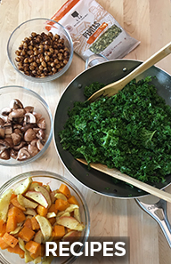 Salad recipe items