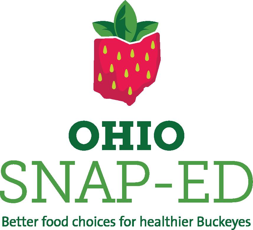 Vertical Ohio SNAP-Ed logo