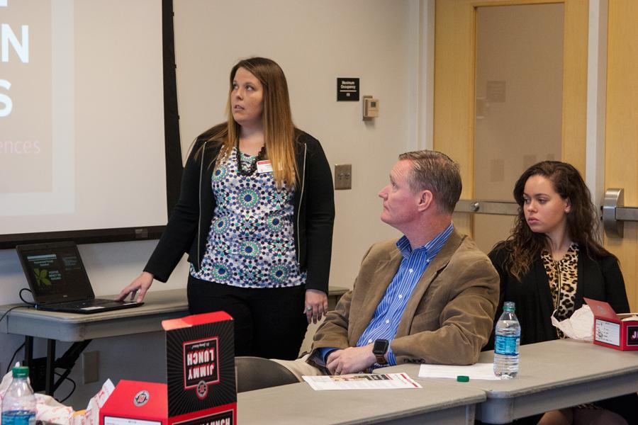Amanda Woods Talks Financial Wellness to US Representative Steve Stivers