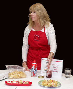 Shari Gallup teaches Dining with Diabetes
