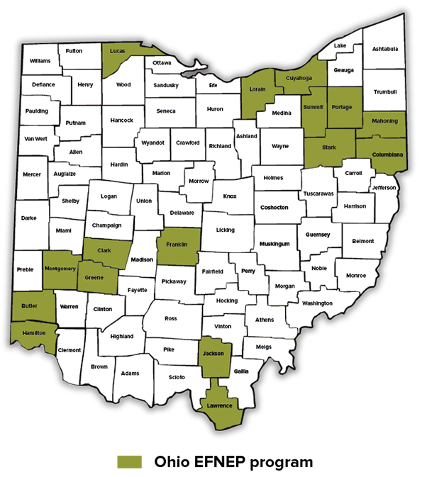 EFNEP counties June 2021