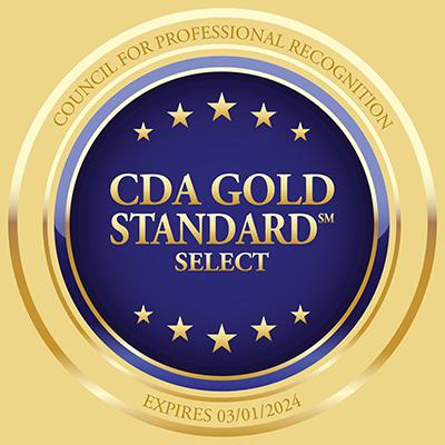 CDA Gold Standard badge