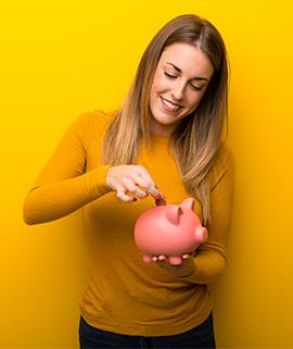 Establish a savings habit.