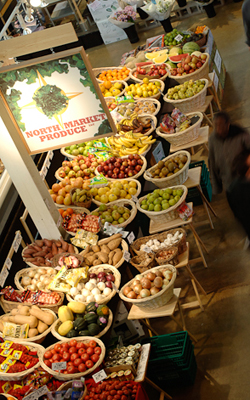 North Market produce stand